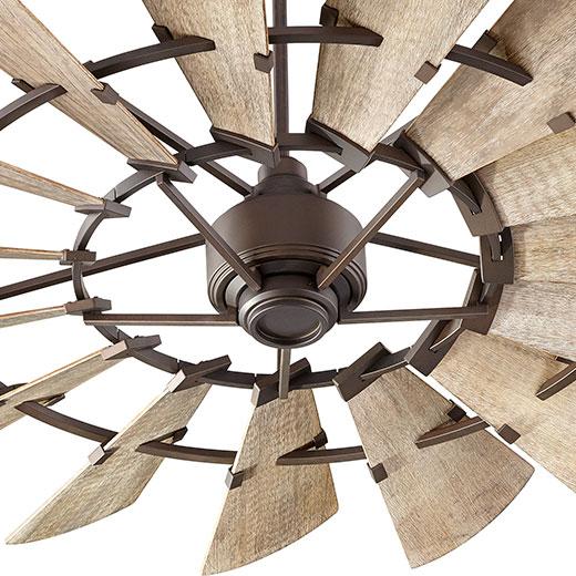 Large Foyer Fan : Quorum international manufacturer of designer